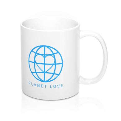 Planet Love Global Heart 11oz Mug - Discount Home & Office