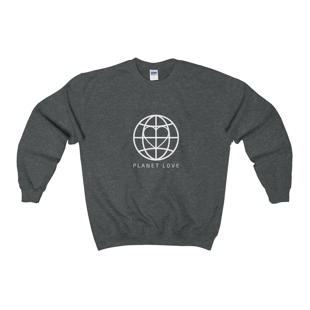 Planet Love Global Heart Sweatshirt - Discount Home & Office