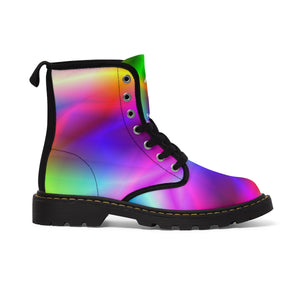 Tropical Rainbow Kid's Martin Boots