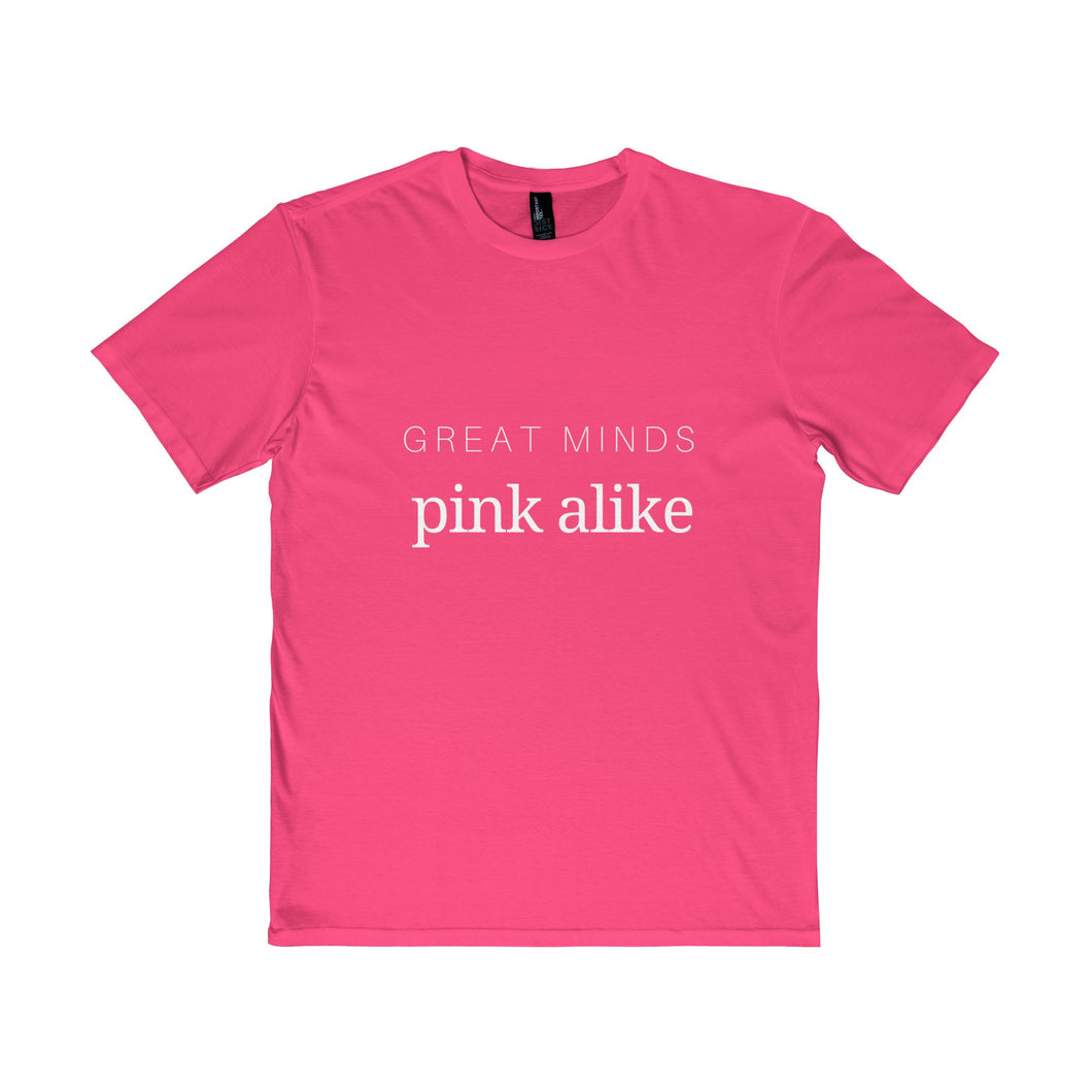 Great Minds Pink Alike Semi-slim fit Jersey - Discount Home & Office