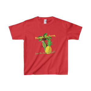 Pineapple Sanctuary Kids Heavy Cotton Tee - Discount Home & Office