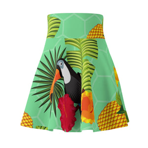 Toucan Play Women's Skater Skirt - Discount Home & Office