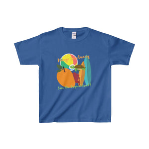 Mango Sanctuary Kids Heavy Cotton Tee - Discount Home & Office