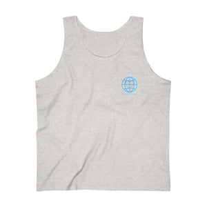 Planet LoveGlobe Men's Ultra Cotton Tank Top - Discount Home & Office