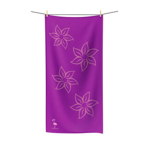 Purple Sunset Quick-Drying Beach Towel - Discount Home & Office
