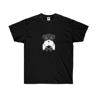 Schnauzer Black Tie Event Unisex Ultra Cotton Tee - Discount Home & Office