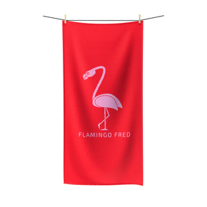 Flamingo Fred Quick-Drying Beach Towel - Discount Home & Office