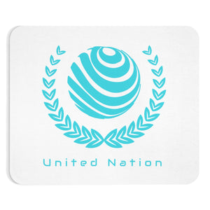 United Nation Emblem Mouse Pad