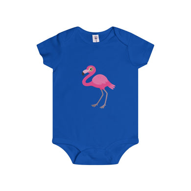 Pinky The Flamingo Baby Infant Rip Snap Tee Onesies - Discount Home & Office