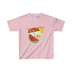 Watermelon Sanctuary Kids Heavy Cotton Tee - Discount Home & Office