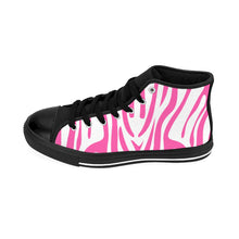Safari Line - The Pink Zebra Women's High-top Sneakers - Discount Home & Office