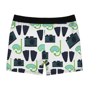 Diver Paparazzi & Turtle Men's Boxer Briefs - Discount Home & Office
