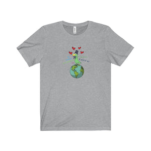 The Coolest Parrot on Planet Love Unisex Tee - Discount Home & Office