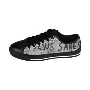 Jesus Saves Men's Sneakers - Discount Home & Office