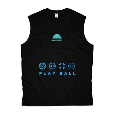 Play Ball Men's Sleeveless Performance Tee - Discount Home & Office