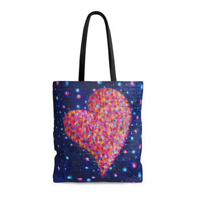 Home Is Where The Heart Is AOP Tote Bag - Discount Home & Office