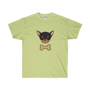 Inseparable: A Pinscher & A Bone Unisex Ultra Cotton Tee - Discount Home & Office