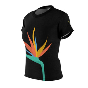 Bird of Paradise Women's AOP Cut & Sew Tee - Discount Home & Office