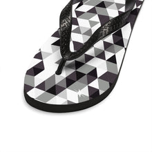 Gingham Style Unisex Flip-Flops - Discount Home & Office