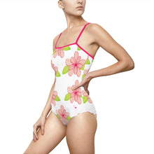 Flora Tropicana Women's One-piece Hollow-out Back Swimsuit - Discount Home & Office
