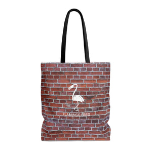 Flamingo Fred Graffiti Wall AOP Beach Bag - Discount Home & Office