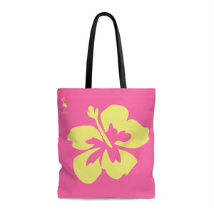 Hibiscus Dreams AOP Beach Bag - Discount Home & Office