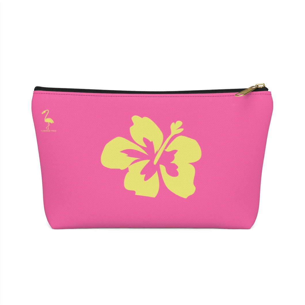 Hibiscus Dreams Accessory Pouch w T-bottom - Discount Home & Office