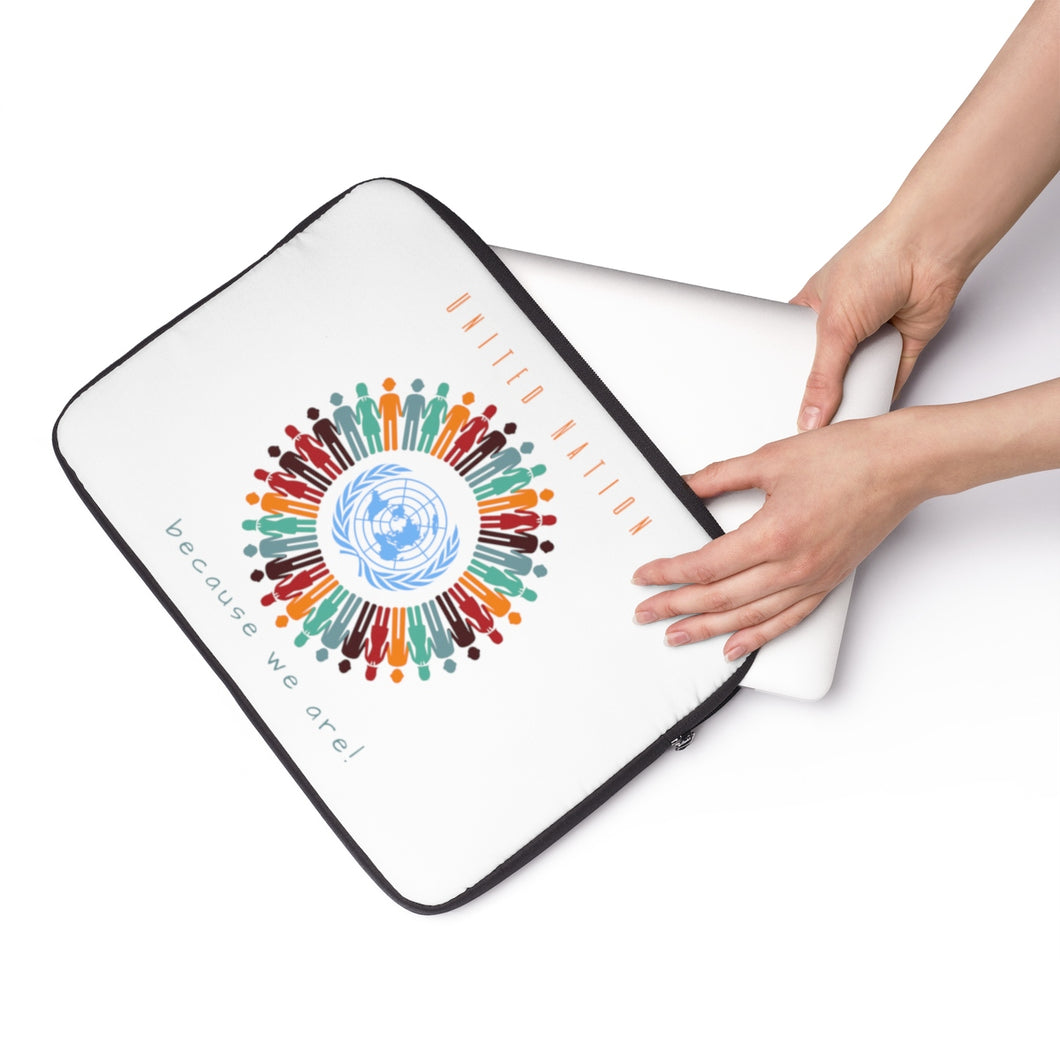 United Nation Citizen Circle Laptop Sleeve - Discount Home & Office
