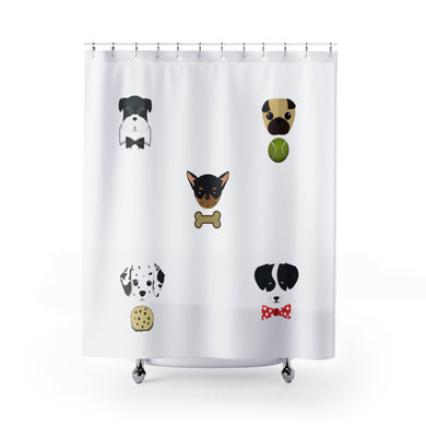 Puppy Love Shower Curtain - Discount Home & Office