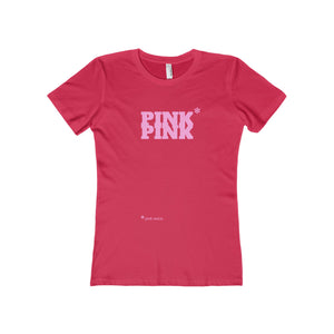 Pink Pink [pink twice] Boyfriend Tee - Discount Home & Office