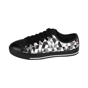 Gingham Style Men's Sneakers - Discount Home & Office