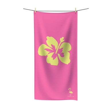 Hibiscus Dreams Quick-Drying Beach Towel - Discount Home & Office