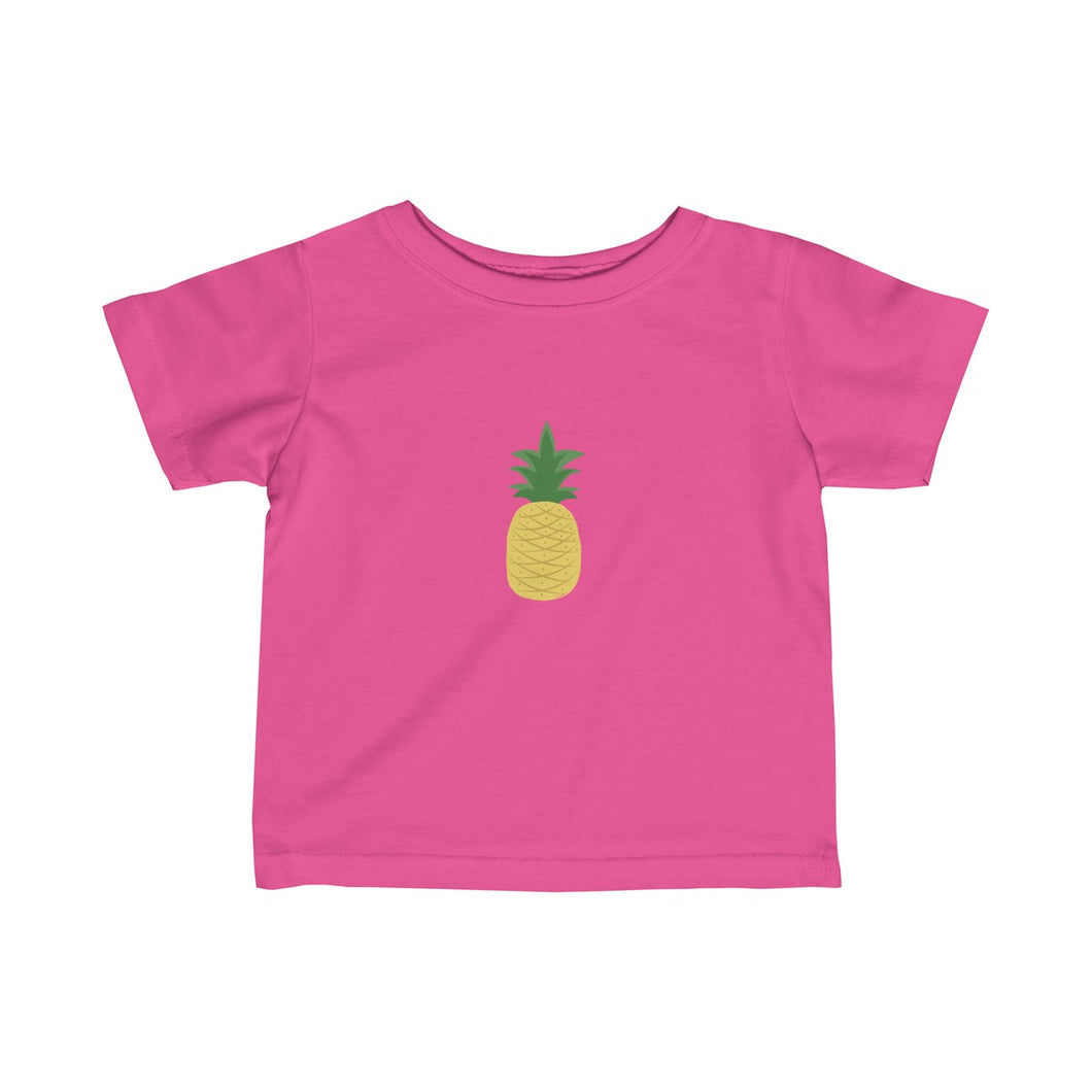 Pineapple Baby Infant Fine Jersey Tee - Discount Home & Office