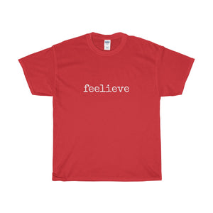 Feelieve Unisex Heavy Cotton Tee - Discount Home & Office
