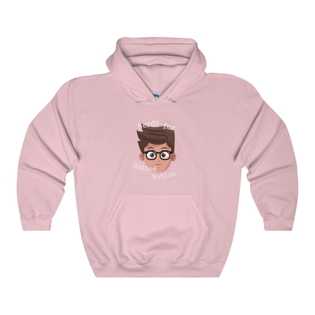 Nerds For United Nation Hoodie - Discount Home & Office