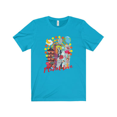 Planet Love Collage Unisex Tee - Discount Home & Office