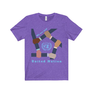 We are one! United Nation Unisex Tee - Discount Home & Office