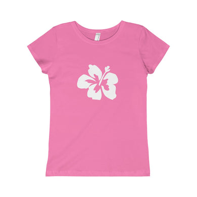 Hibiscus Dreams Girls Princess Tee - Discount Home & Office