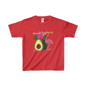 Avocado Sanctuary Kids Heavy Cotton Tee - Discount Home & Office