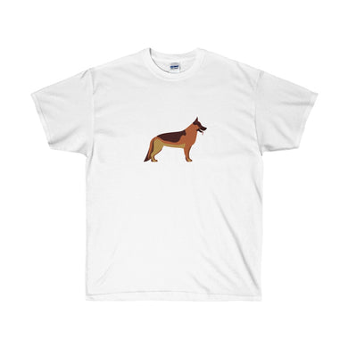 German Shepherd Guardian Unisex Ultra Cotton Tee - Discount Home & Office