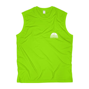 I'm Just Here To Kick Your Ass Sleeveless Performance Tee - Discount Home & Office