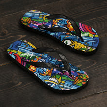 Fish Eye Graffiti Unisex Flip-Flops - Discount Home & Office