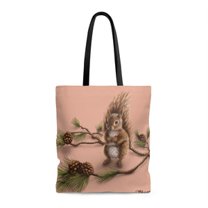 Squirrel AOP Large Tote Bag - Discount Home & Office
