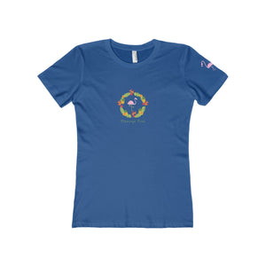 Hawaiian Wreath Women's The Boyfriend Tee - Discount Home & Office