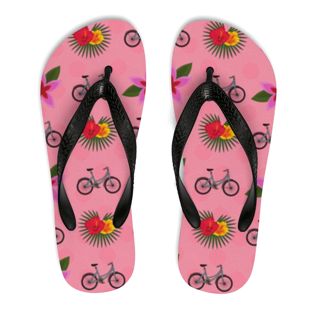 La Tour de Tropique Unisex Flip-Flops - Discount Home & Office