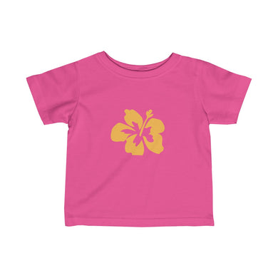 Hibiscus Dreams Infant Fine Jersey Tee - Discount Home & Office