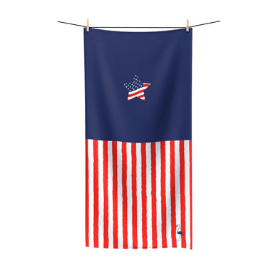 Stars & Stripes Forever Quick-Drying Beach Towel - Discount Home & Office