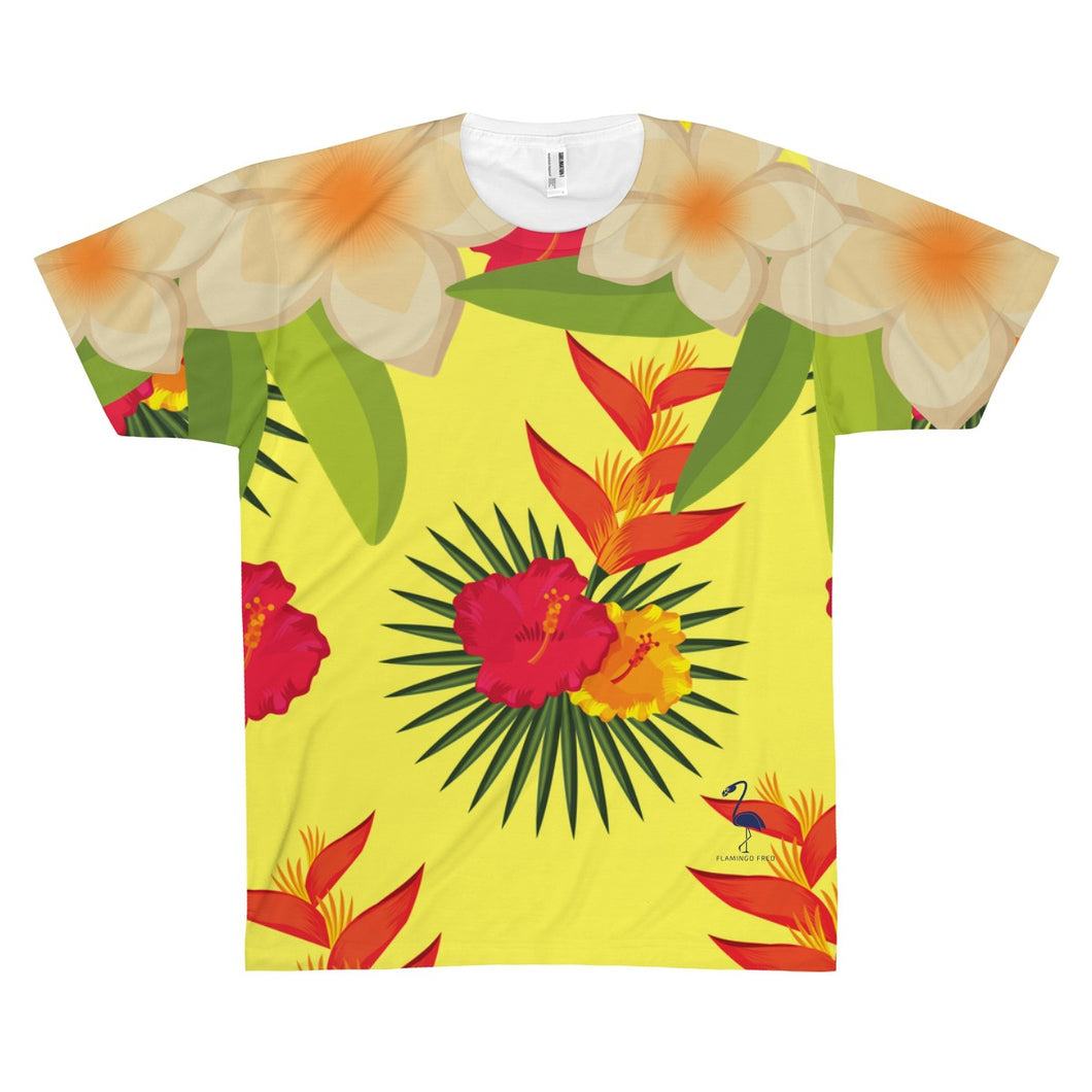 The Bahamian Unisex AOP Sublimation Tee - Discount Home & Office