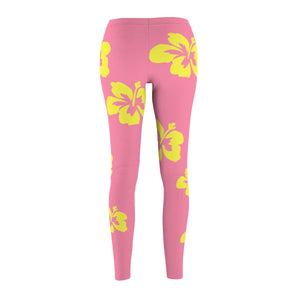 Hibiscus Night's Dream Women's Leggings - Discount Home & Office