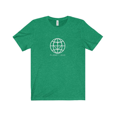 Planet Love Global Heart Unisex Tee - Discount Home & Office